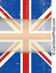 UK torn flag