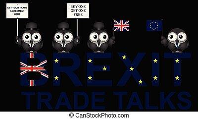 UK Trade Talks Delegation - Comical United Kingdom Trade ...