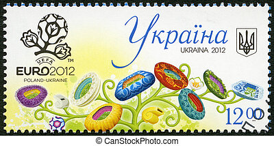 UKRAINE- 2012: shows UEFA EURO 2012 (football arenas)