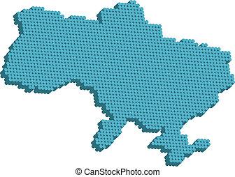 ukraine, carte