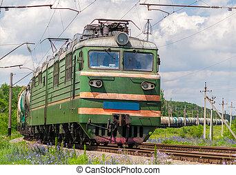 ukraine, essence, train, pétrole, fret