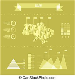 Ukraine Infographic Report Template