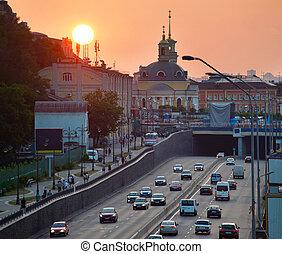 ukraine, kiev, district., podil