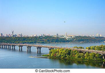 ukraine, skyline, kiev