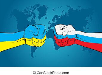 Ukraine versus Russia