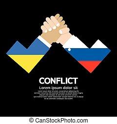 Ukraine VS Russia Arm-Wrestle. - Ukraine VS Russia Arm-...
