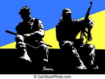 Ukrainen army