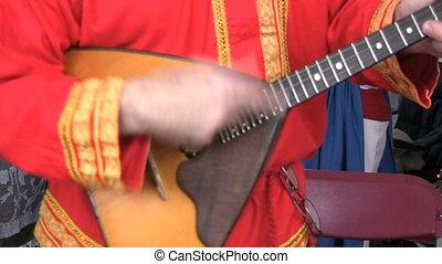 Ukrainian Balalayka - The balalaika family of instruments...