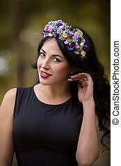 Ukrainian beautiful girl