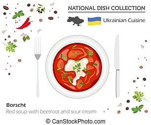 Red borscht Vector Clip Art Illustrations. 87 Red borscht ...