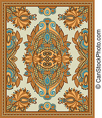 Ornamental Seamless Carpet Design - Ukrainian Oriental...