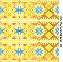 Ukrainian style background