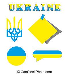 ukrainien, ensemble, symbolisme