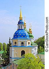 ukrajna, eredet, kolostor, vydubychi, belltower, kyiv
