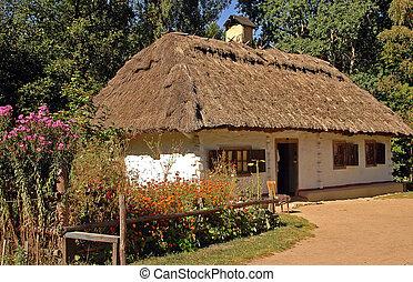 ukranian, landsby