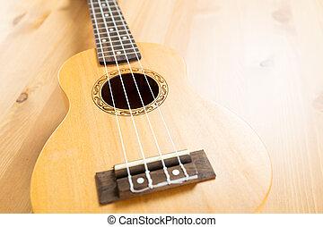 ukulele, cicatrizarse