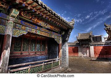 ulaanbaatar, -, 冬宮