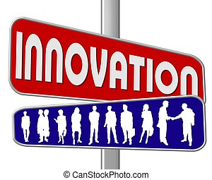 ulica znaczą, innowacja