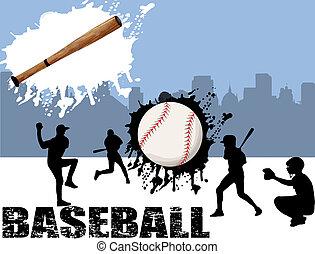 ulice, baseball