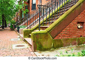 ulice, v, boston