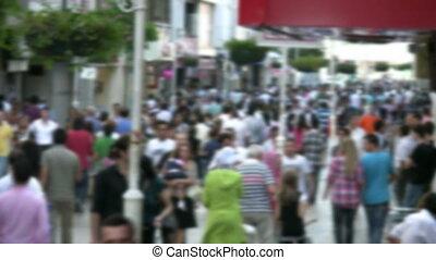 uliczna scena
