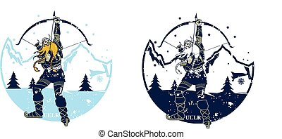 Ullr is a very old god of the northern lands, so old that by...