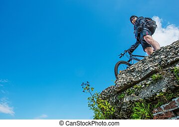 ultimate, équitation vélo
