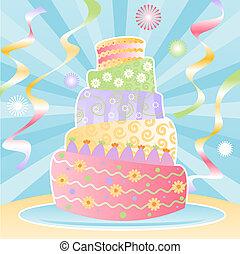 ultimate, gâteau anniversaire