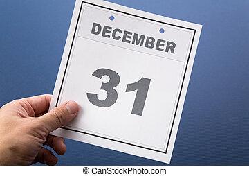 ultimo, giorno, anno
