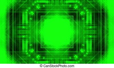 Ultra Green High Tech Looping background