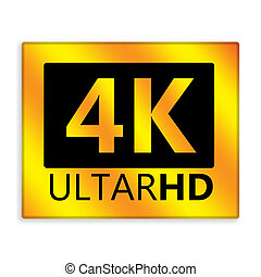 ultra, hd, 4k, ikone