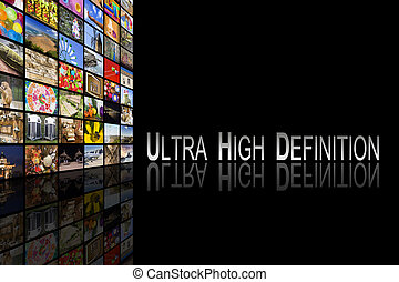 Ultra High Definition Concept