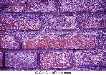 Ultra purple Brick wall texture, cement background for web site or mobile devices