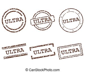 Ultra stamps