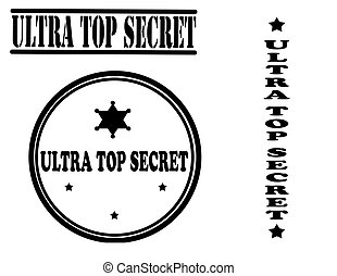 Ultra top secret stamp collection