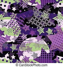 ultra viol, stjärnor, bakgrund