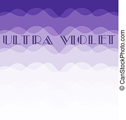 ultra violet color - vector color of the year ultra violet