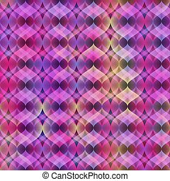 Ultra Violet Neon Vector Seamless Pattern