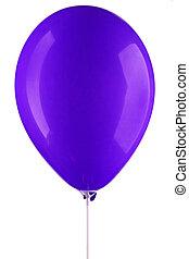 ultramarine inflated air balloon