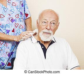 ultraschall, entlastung schmerzen