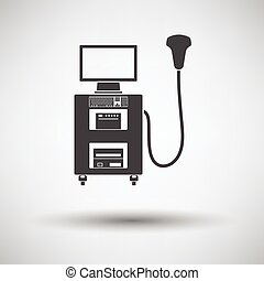 Ultrasound diagnostic machine icon