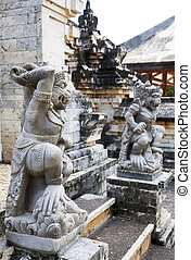 uluwatu, uluwatu, indonesia, bali, guardiani, tempio