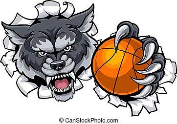 Ulve, basketball. Forening, basketball, skole, inderside ...