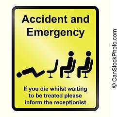 ulykke nødsituation