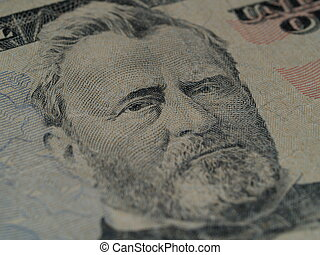 Ulysses Grant on the US $50 2