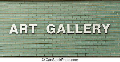 umělecká galerie, firma