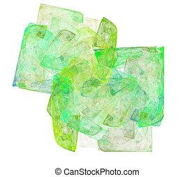 umění, barva, abstraktní, grafické pozadí.