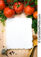 umění, kuchařský, grafické pozadí