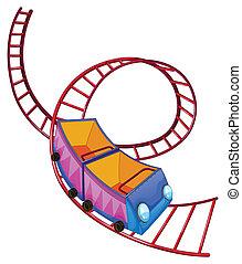 um, coaster rolo, passeio