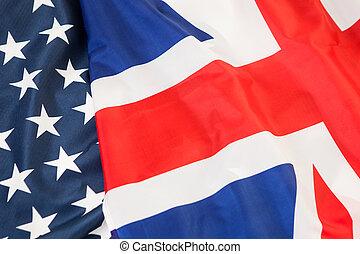 um, coligação, de, dois, otan, countries., a, nós, e, inglaterra